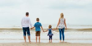 Camber Sands Family Photo Shoot With Claire And Family