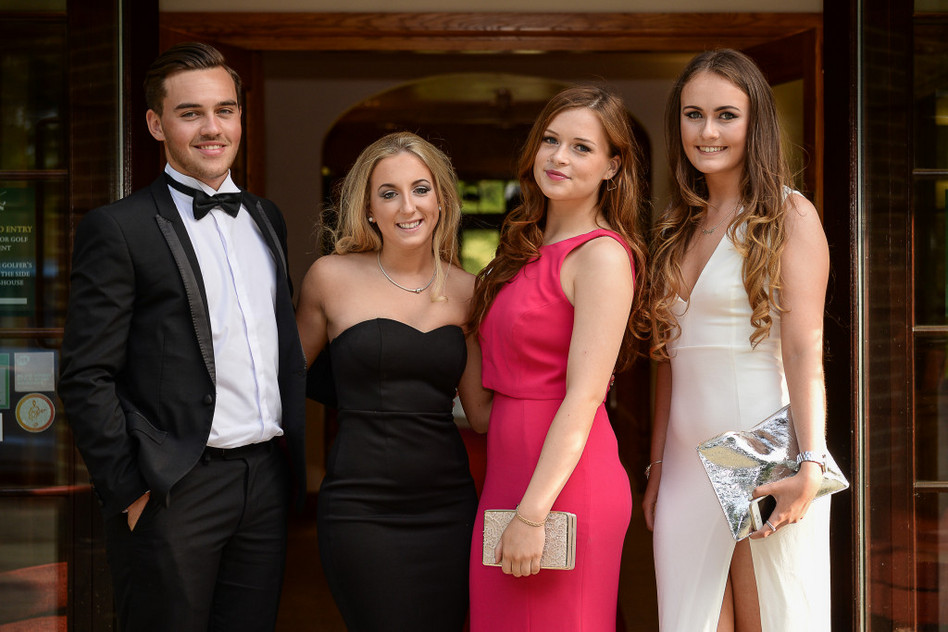 Wilmington Grammar School Prom at Westerham Golf Club 2015