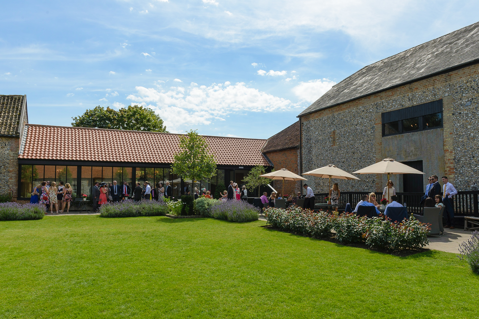 Louise and Tom's Wedding at The Granary Barns, Newmarket, Suffolk