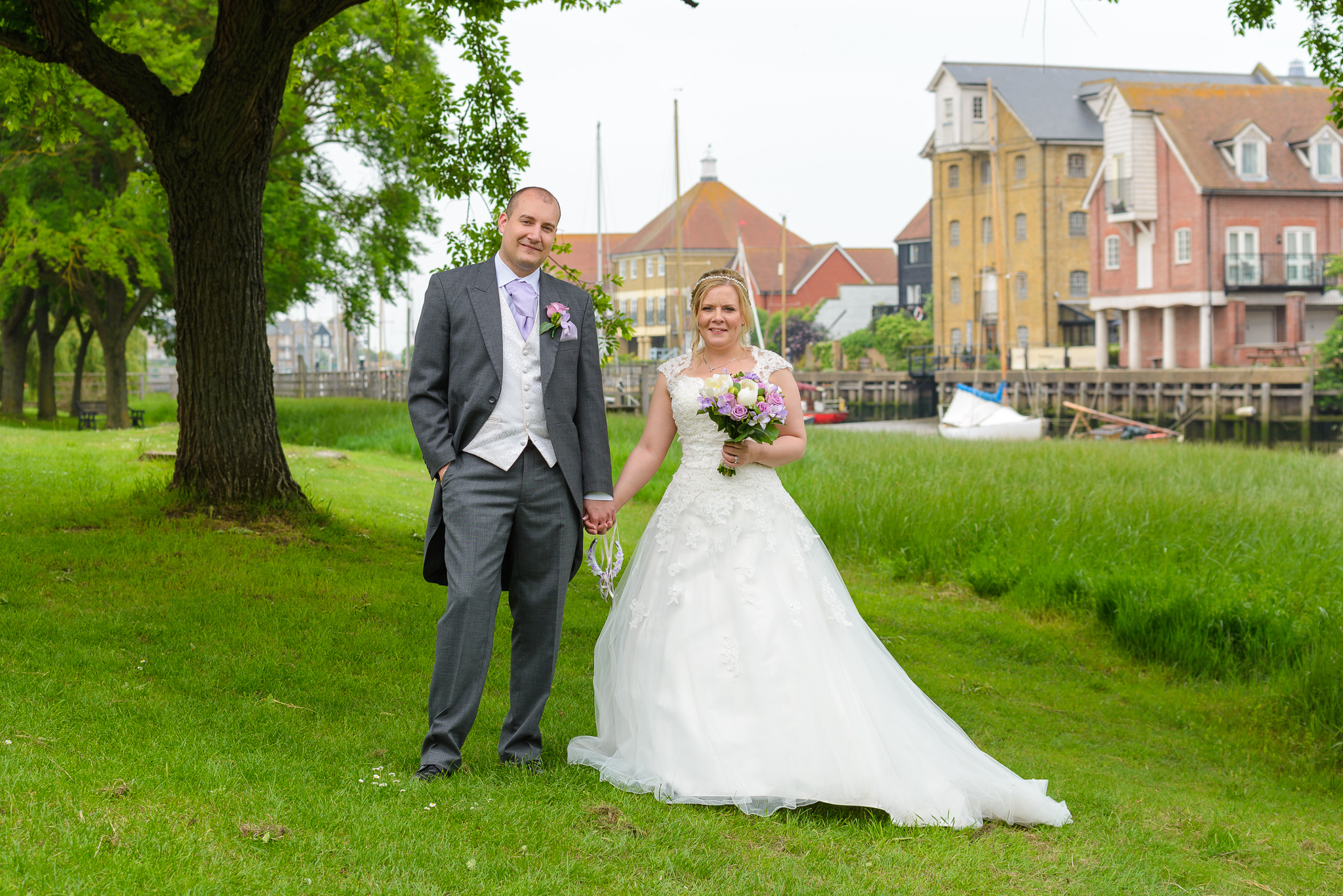 Faversham Creek Wedding Photography | Oakhouse Photography