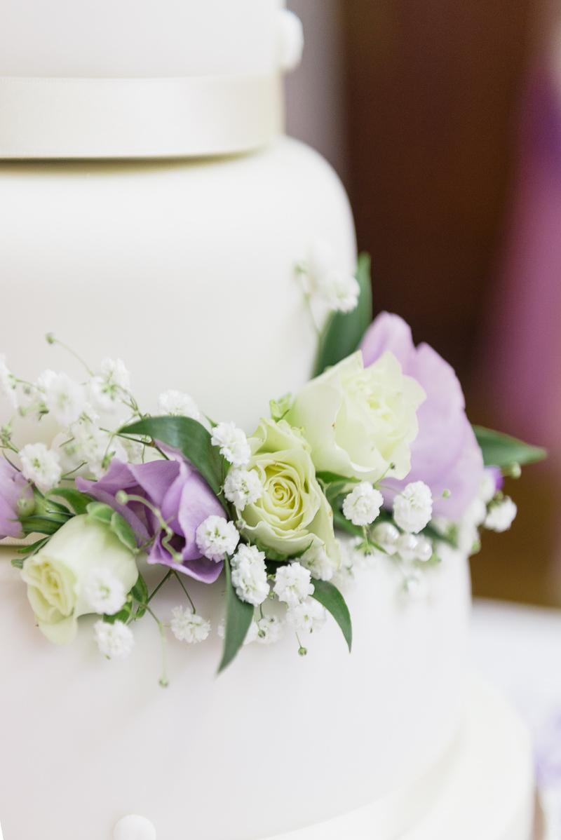 Wedding Cake Detail Photo | Oakhouse Photography