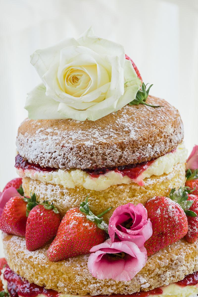 Naked Wedding Cakes | Food Photographers | Oakhouse Photography