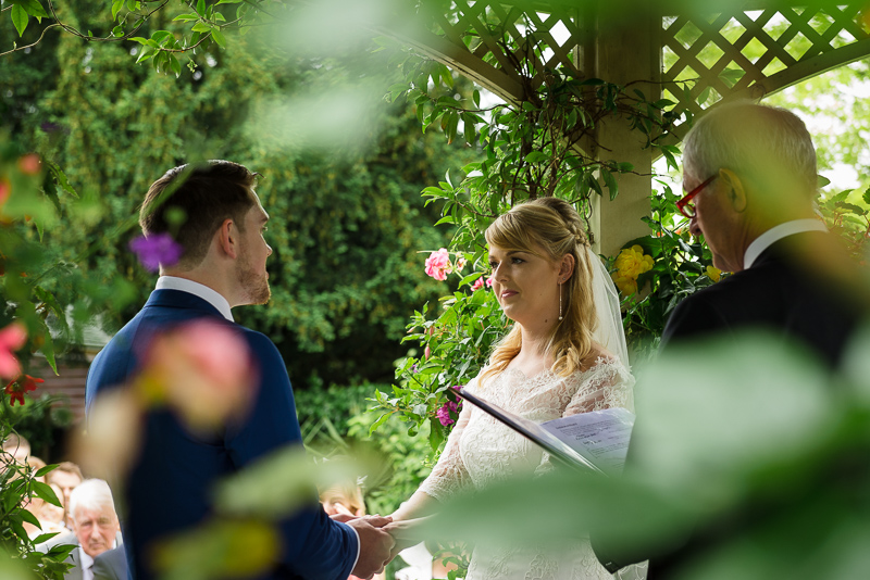 Gazebo Wedding at The Knowle Country House Kent