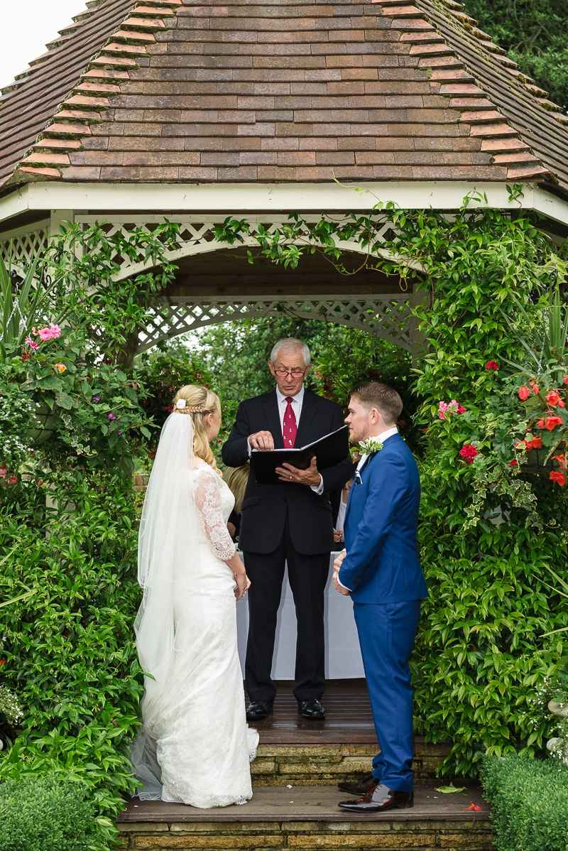 Bride and Groom at The Knowle Country House Kent photographed by Oakhouse Photography