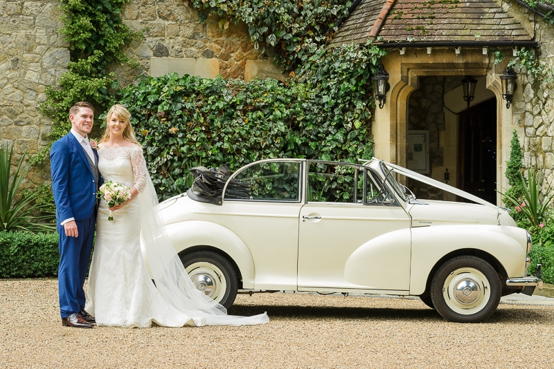 Morris Minor Convertible at The Knowle Country House