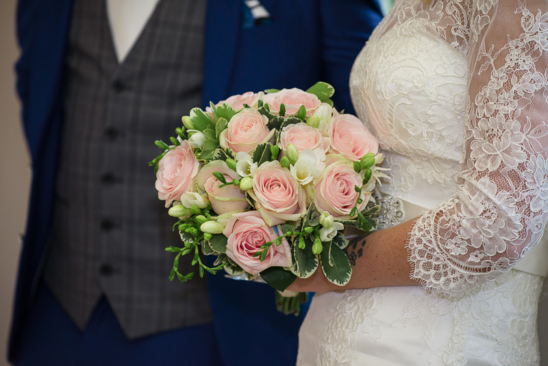 Bridal bouquet at The Knowle Country House