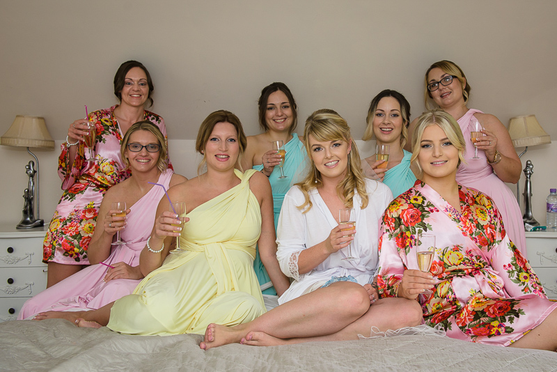 Bridal Party at The Knowle Country House