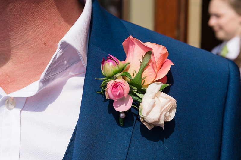 Groom's Buttonhole - South Lodge Hotel Wedding | Oakhouse Photography