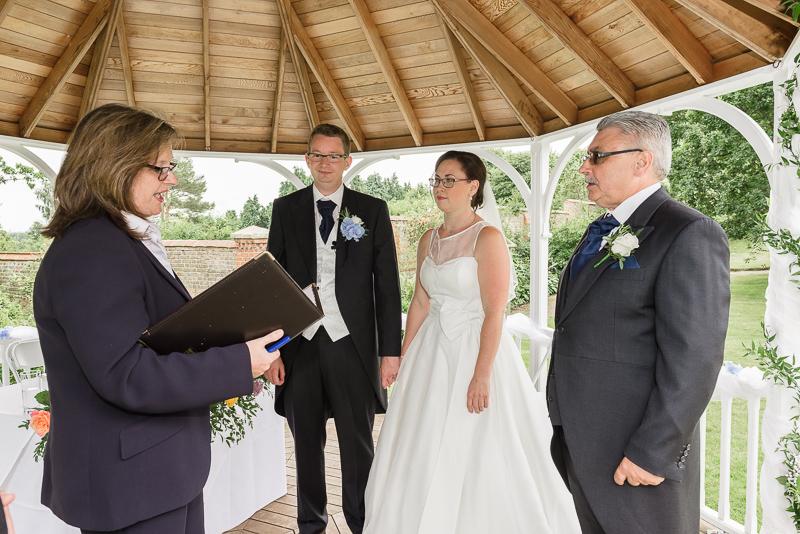 Rowhill Grange Hotel Wedding Ceremony | Oakhouse Photography
