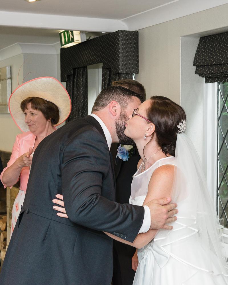 Rowhill Grange Hotel Wedding | Receiving Line