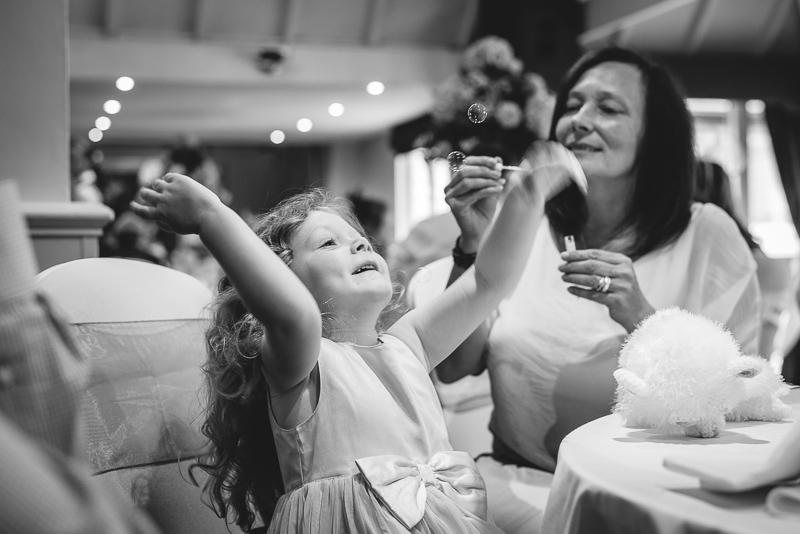 Bubble Fun Rowhill Grange Hotel Wedding | Oakhouse Photography