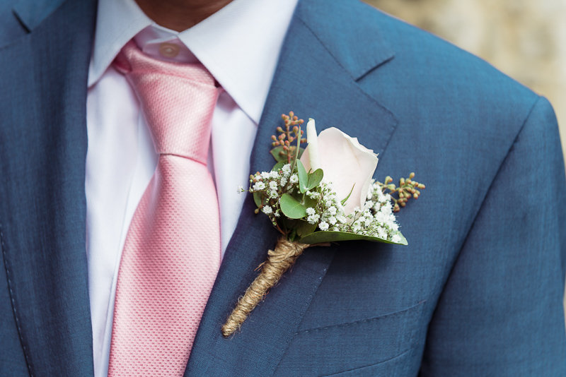 Groom Buttonhole Flowers | Oakhouse Photography