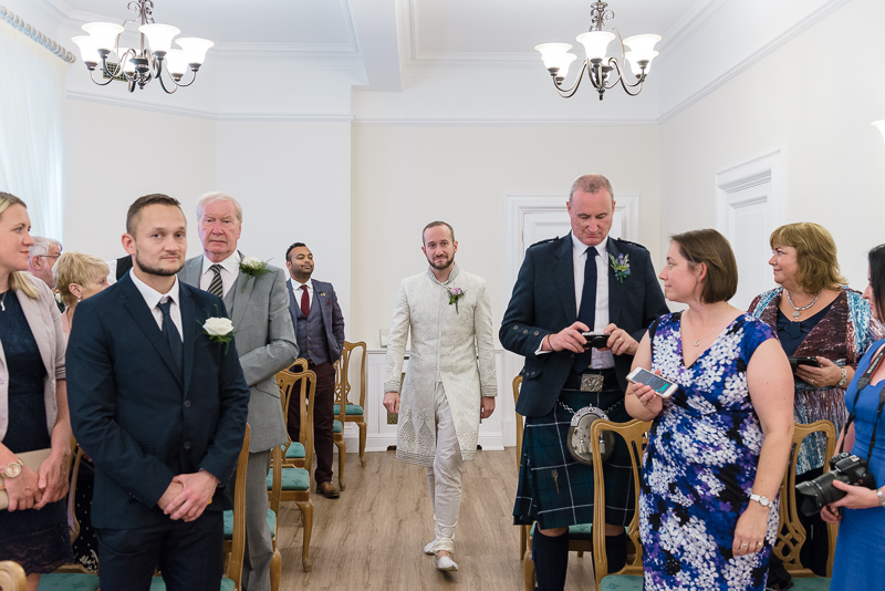 Civil Wedding Ceremony at Woolwich Town Hall | Oakhouse Photography