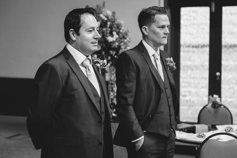 Black and White Wedding Photography | Oakhouse Photography
