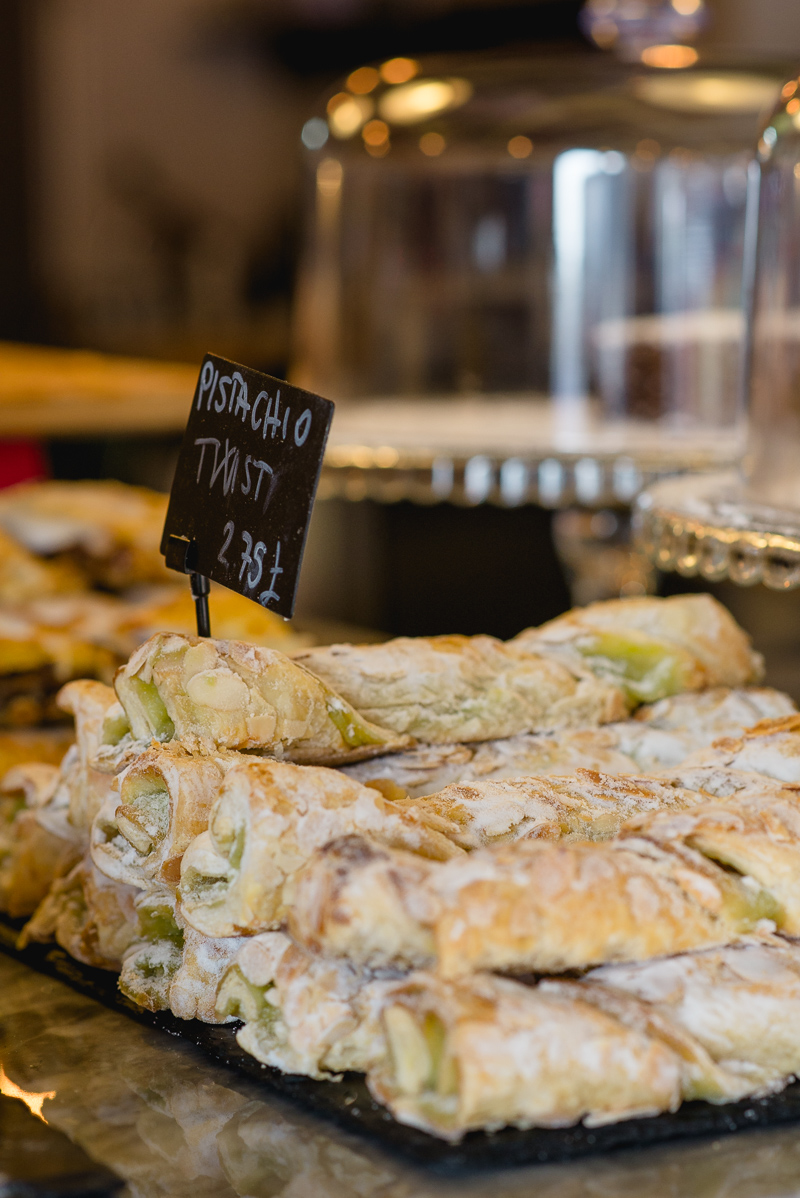 Italian Pastries at Cuore Food From The Earth Bexleyheath | London Food Photographers | Oakhouse Photography