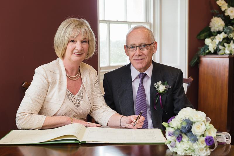 John Boyd Room Danson House Register Signing Bexley Wedding | Oakhouse Photography