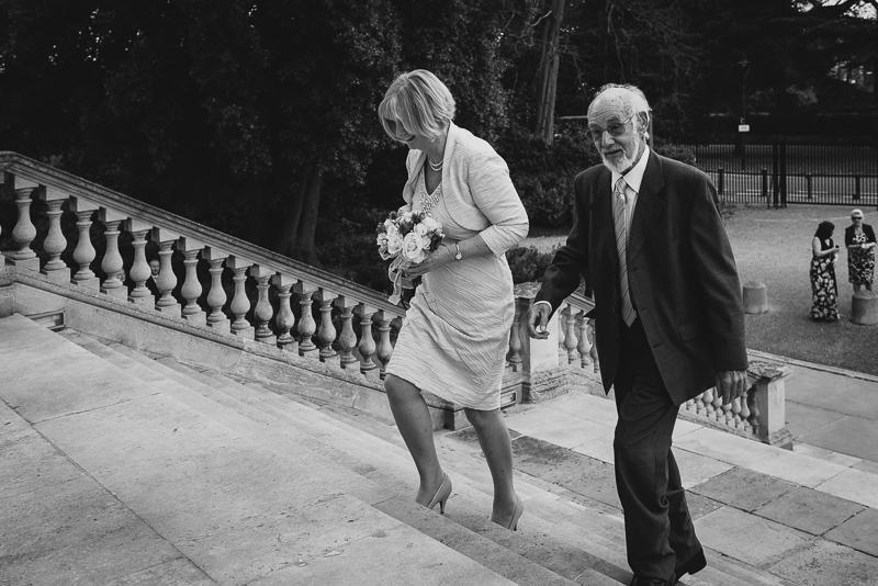 Bride's Arrival Bexley Wedding | Oakhouse Photography