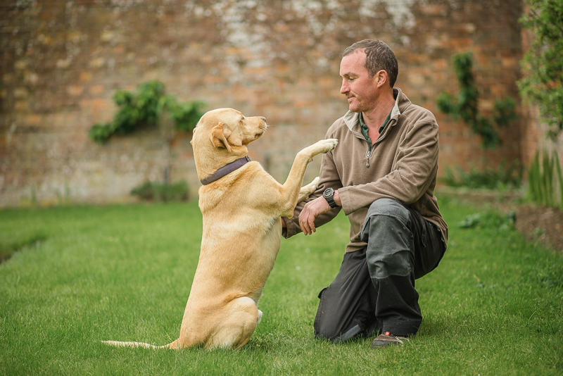 Court Lodge Estate | Hamish with Trooper | Oakhouse Photography