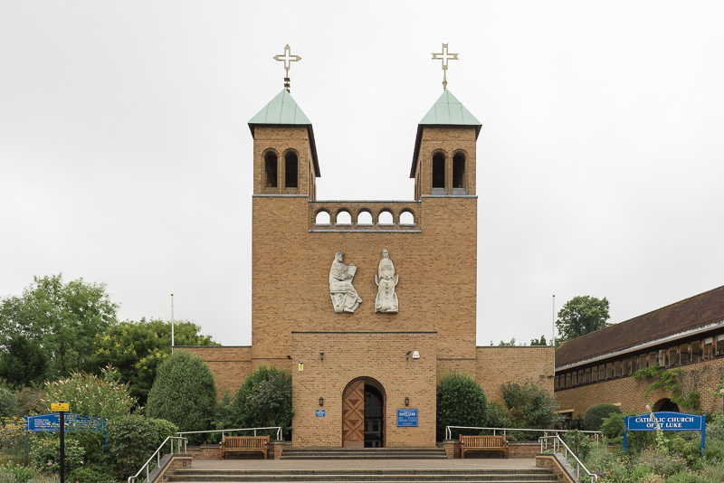 Catholic Church of St Luke Pinner Middlesex Christening Photography   Oakhouse Photography