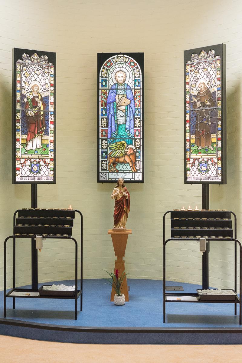Catholic Church of St Luke Pinner Middlesex Christening   Oakhouse Photography