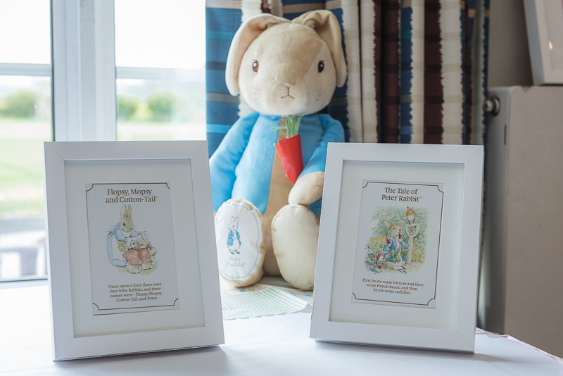 Beatrix Potter Christening Theme | Oakhouse Photography