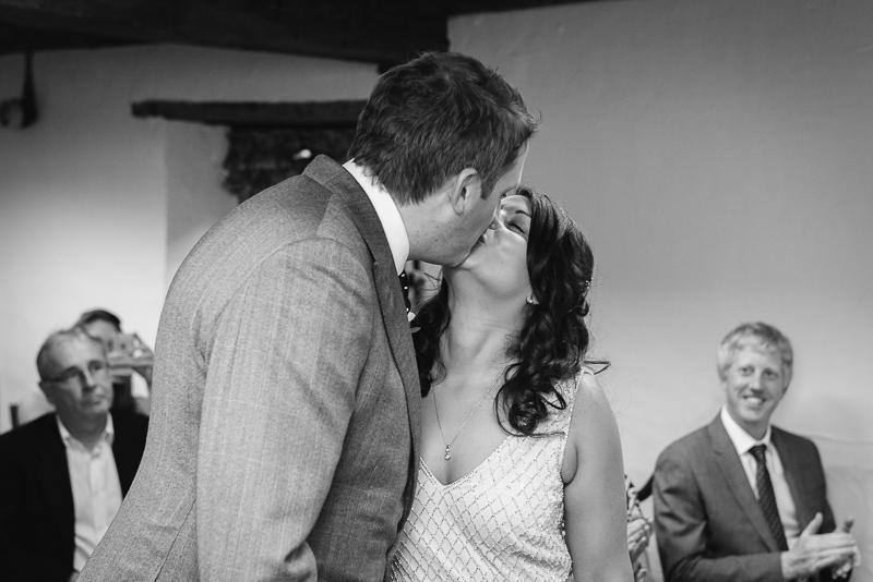 Wedding Ceremony at The Manor Gatehouse Dartford Wedding | Oakhouse Photography