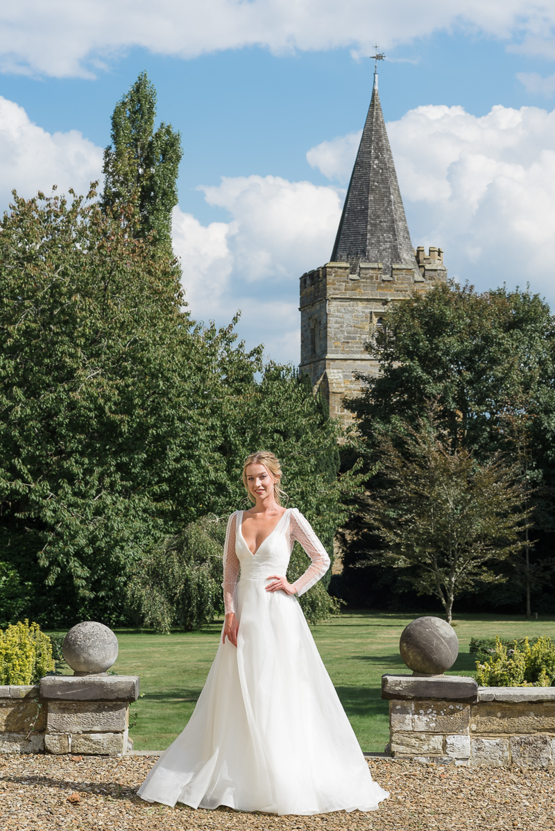 Bride at Court Lodge Lamberhurst Kent | Oakhouse Photography