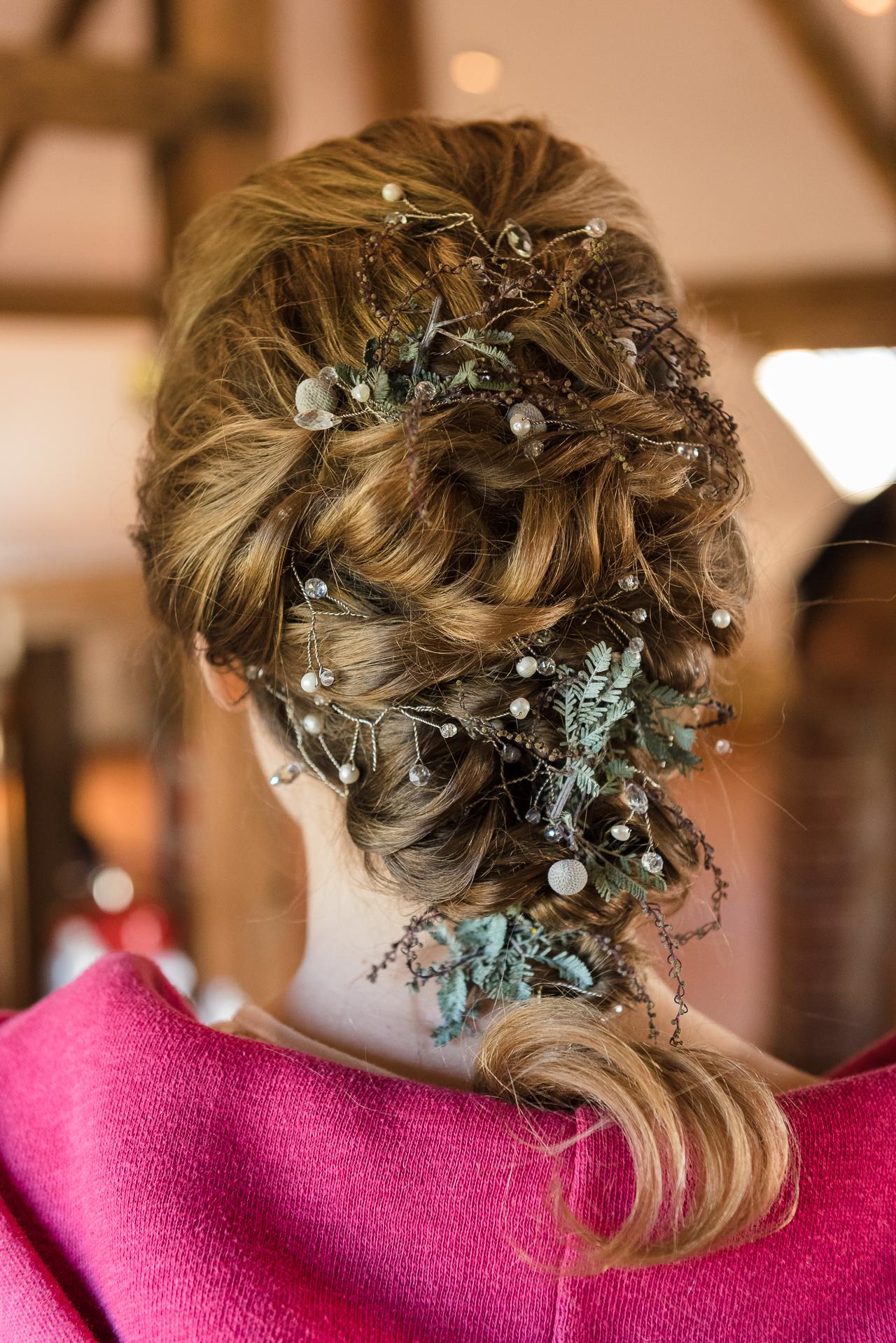 Bridal Hair | Winter Bride Photo Shoot | Oakhouse Photography