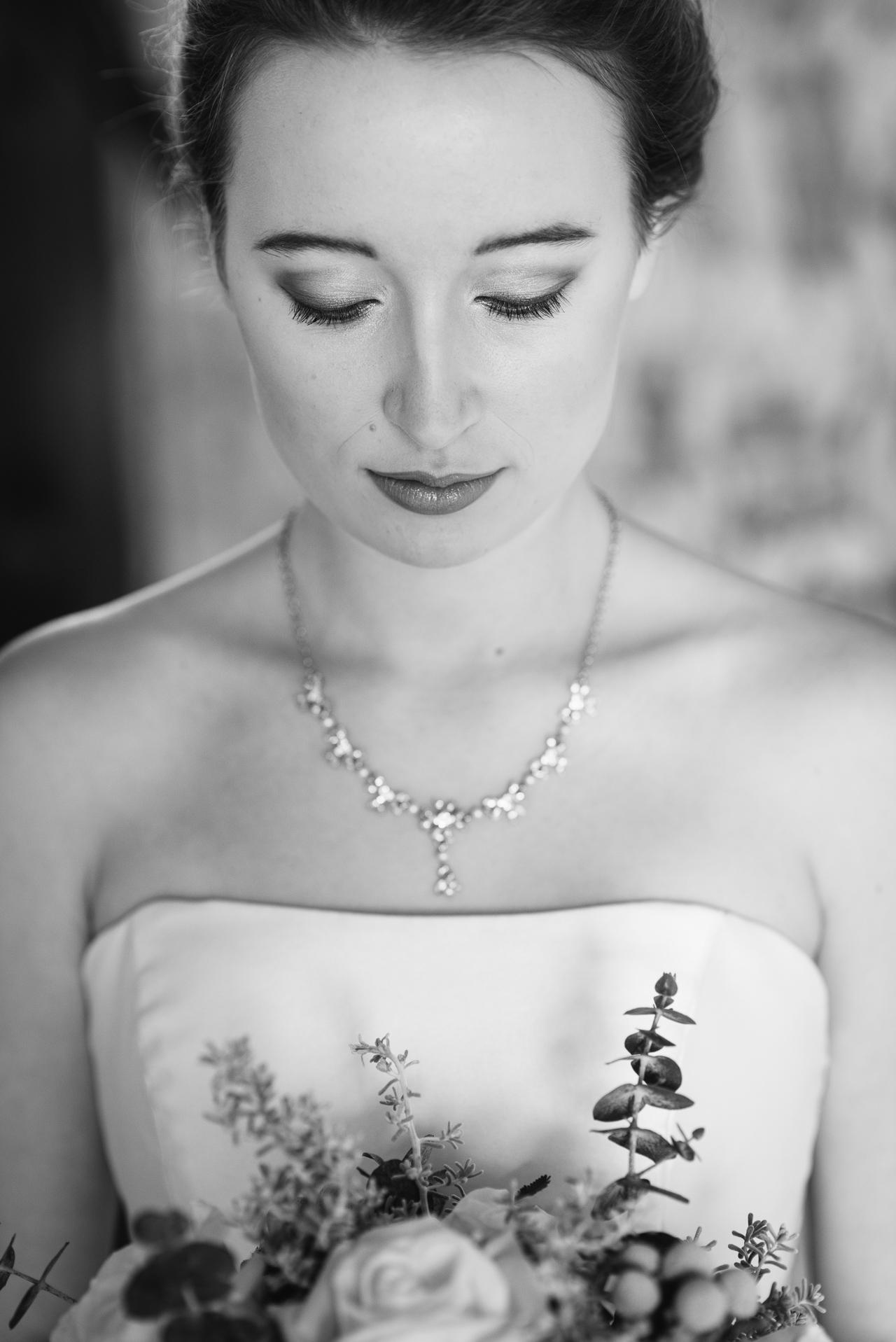 Swallows Oast Winter Bride Photo Shoot | Oakhouse Photography