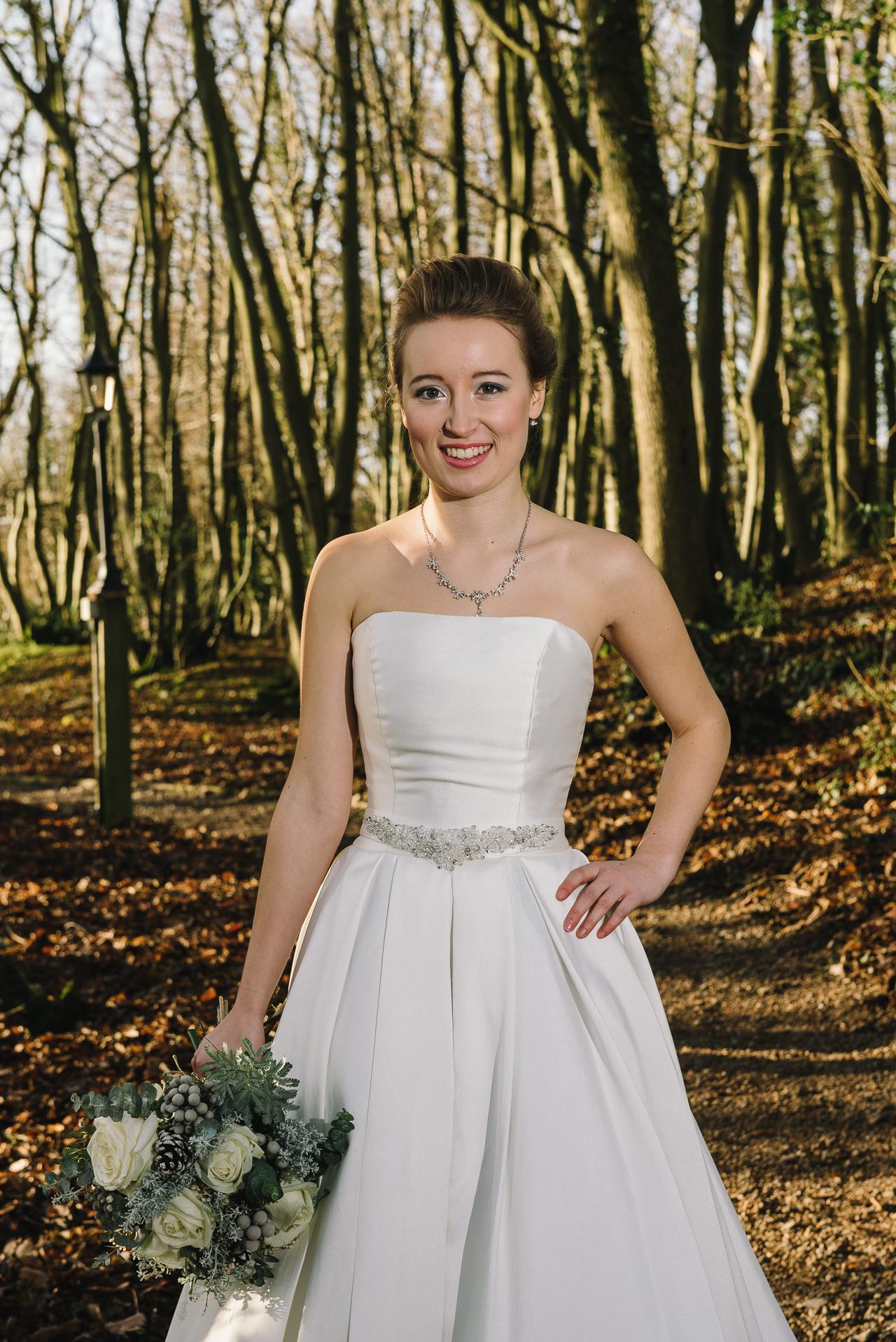 Woodland Bridal Photo Shoot Sussex | Oakhouse Photography