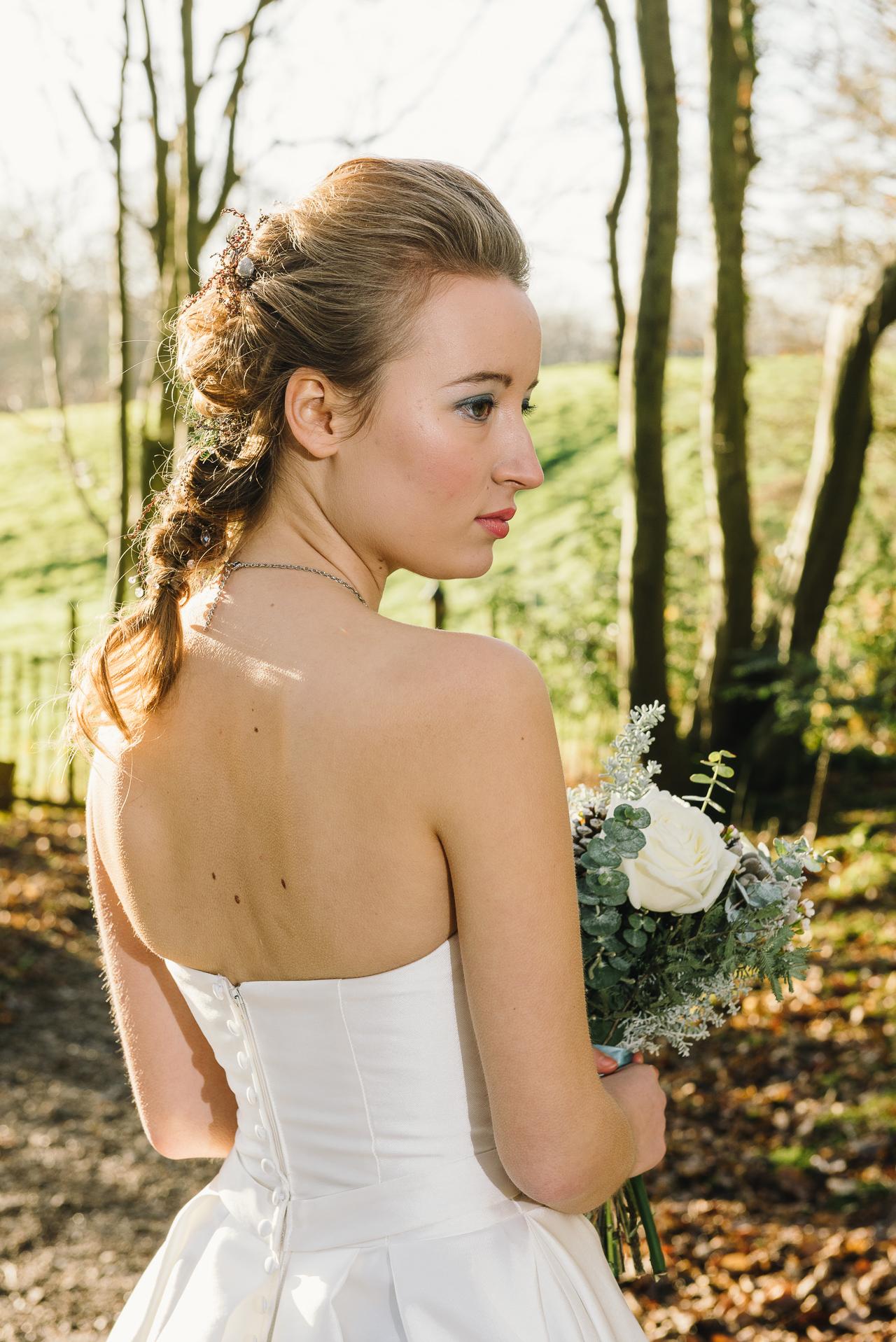 Ticehurst Sussex Winter Bride Photo Shoot | Oakhouse Photography