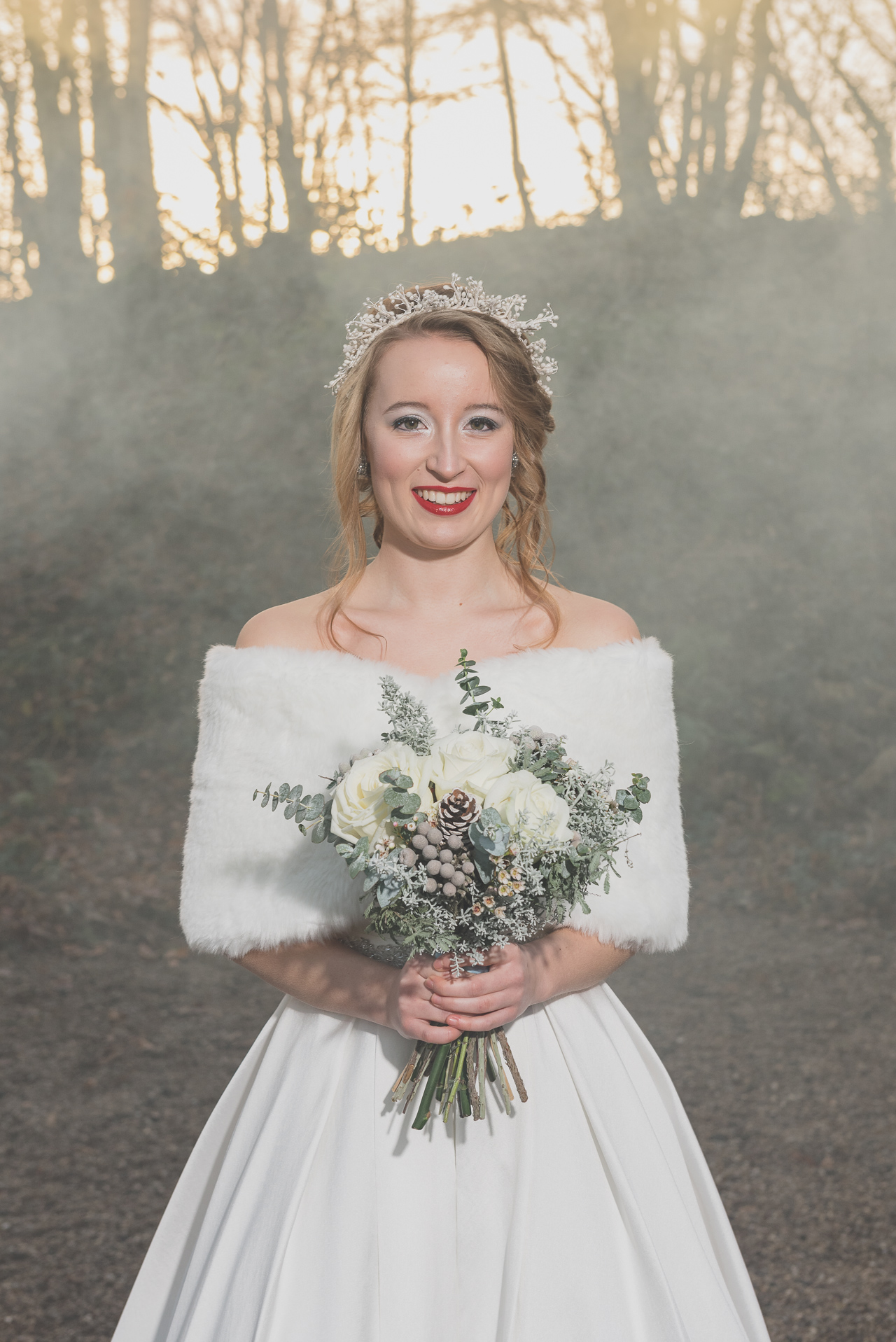 Swallows Oast Ticehurst Bridal Portrait Photo Shoot | Oakhouse Photography