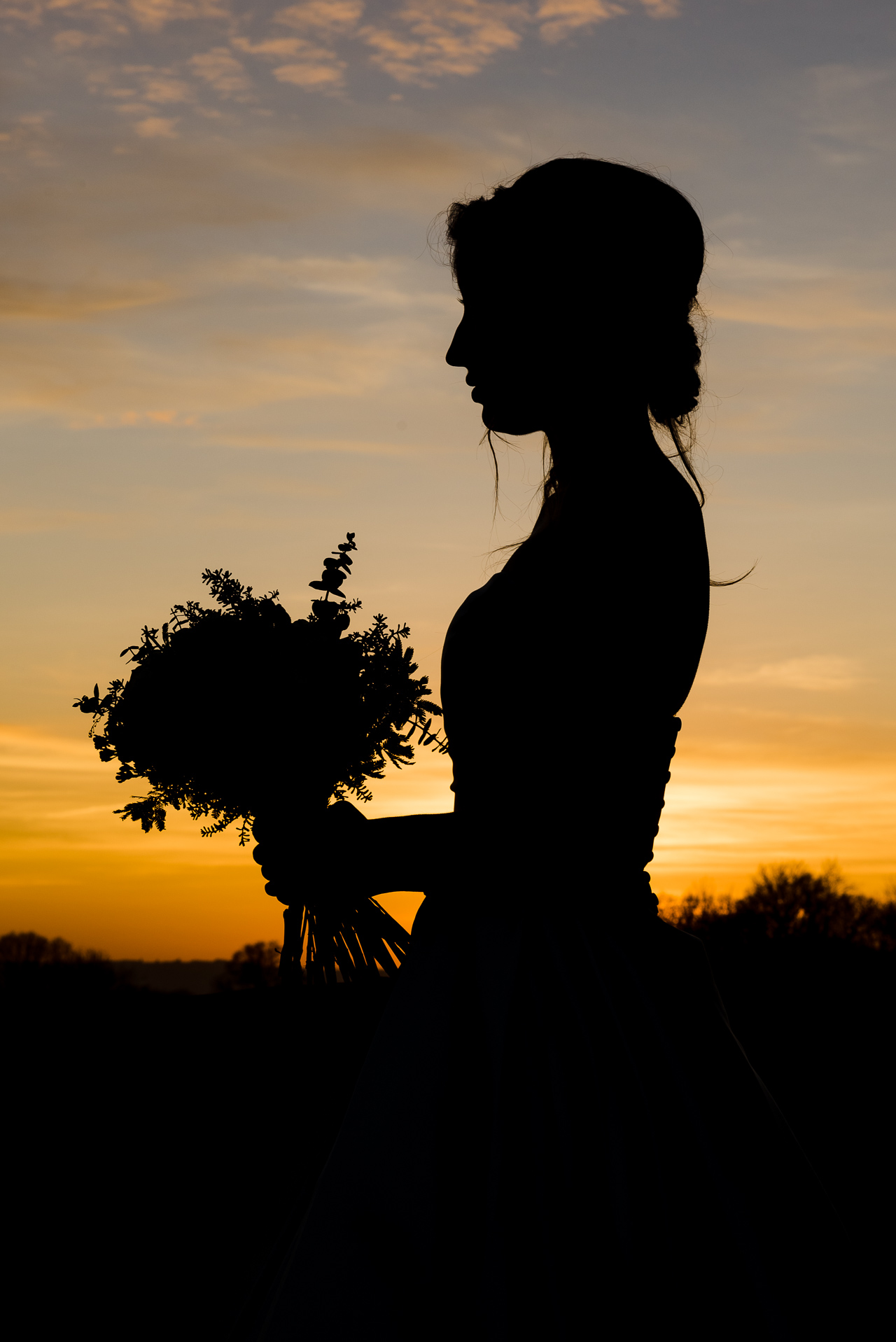 Swallows Oast Ticehurst Winter Bride Photo Shoot | Oakhouse Photography