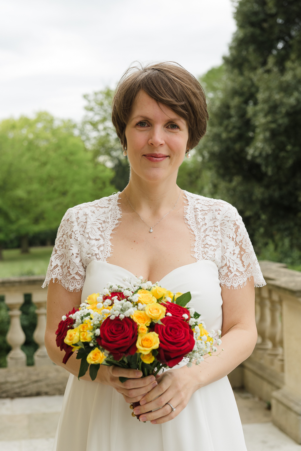 Bridal Portrait at Danson House Bexley | London Wedding Photographer | Oakhouse Photography