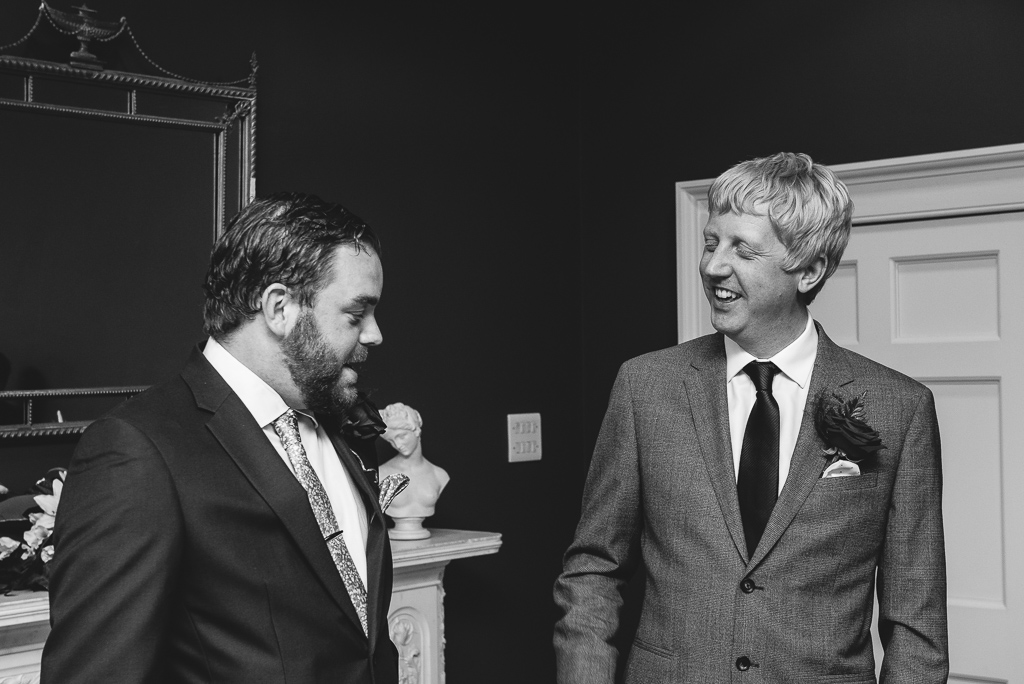 Best man and groom | Documentary Wedding Photographer | Oakhouse Photography