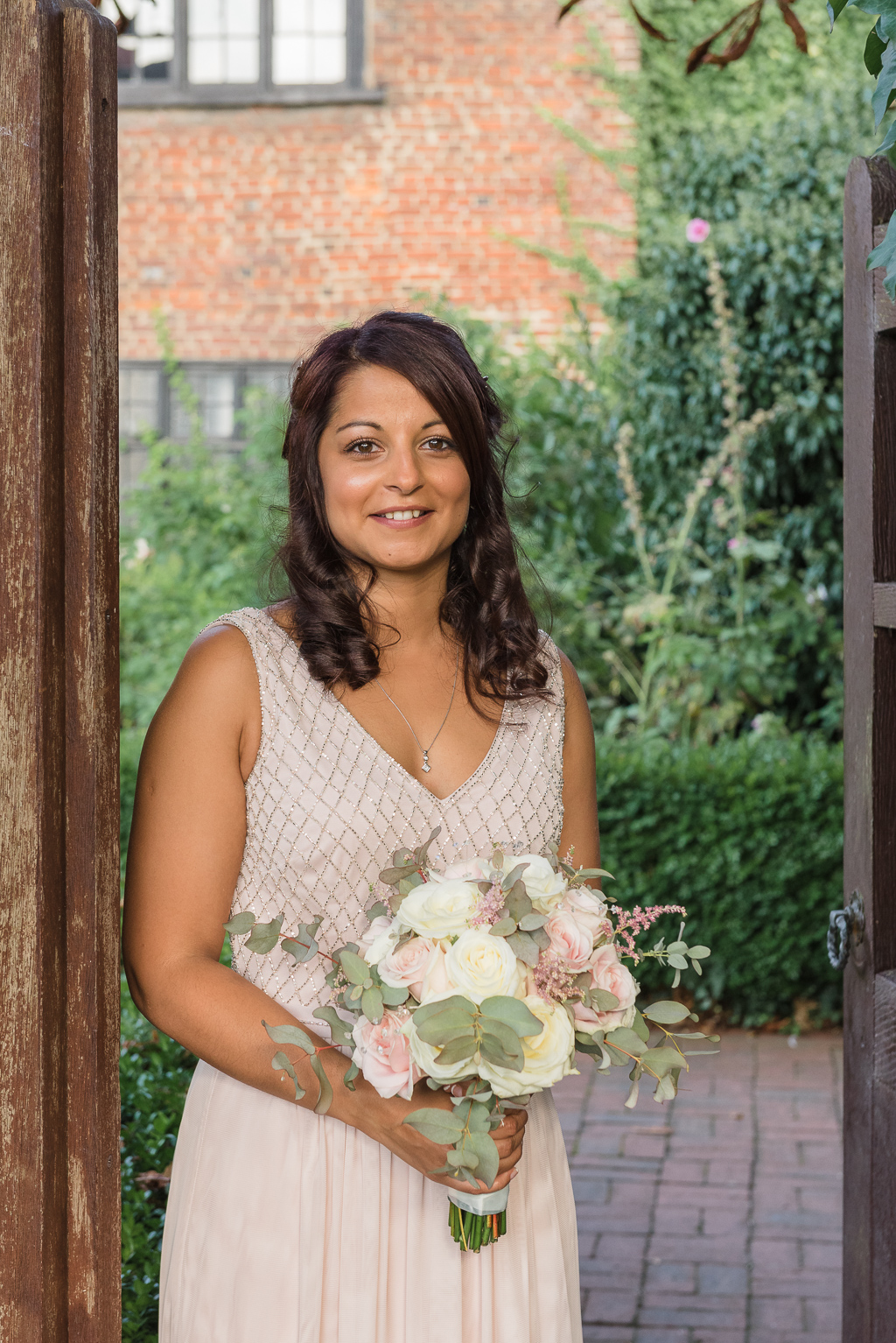 Bride Portrait at The Manor Gatehouse Dartford | Kent Wedding Photographers | Oakhouse Photography