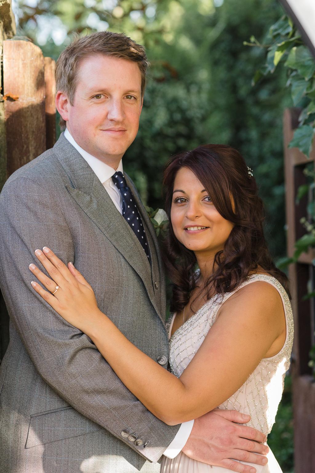 Bride and Groom Portraits at The Manor Gatehouse Dartford | Kent Wedding Photographers | Oakhouse Photography