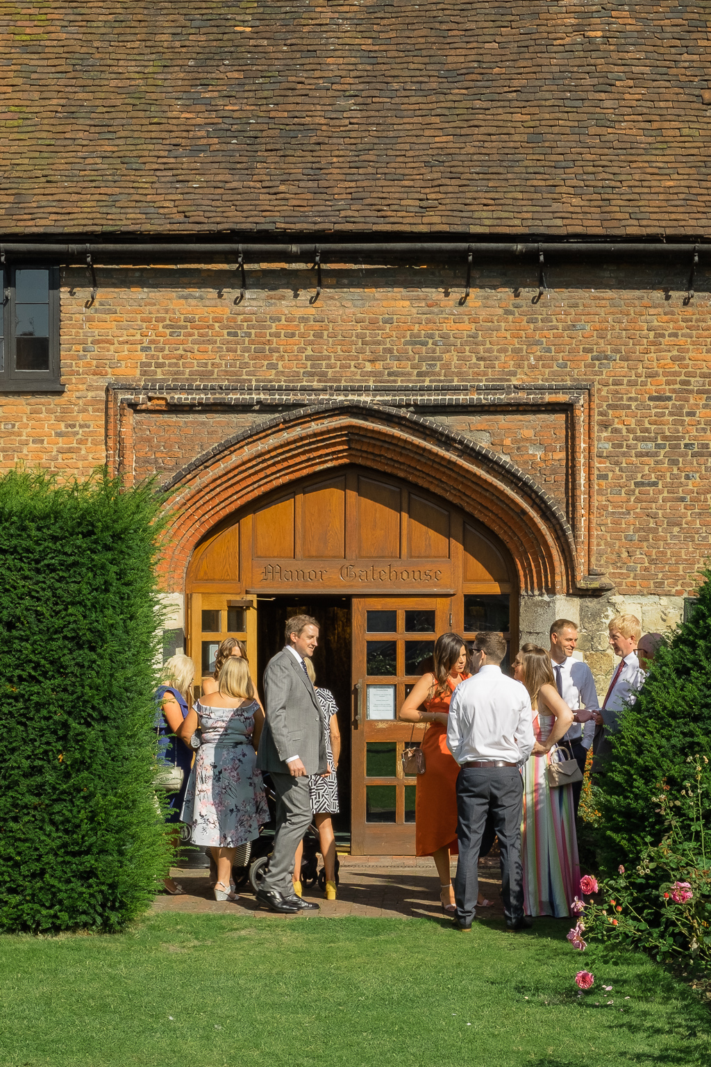 The Manor Gatehouse Dartford Wedding Ceremony | Kent Wedding Photographers | Oakhouse Photography
