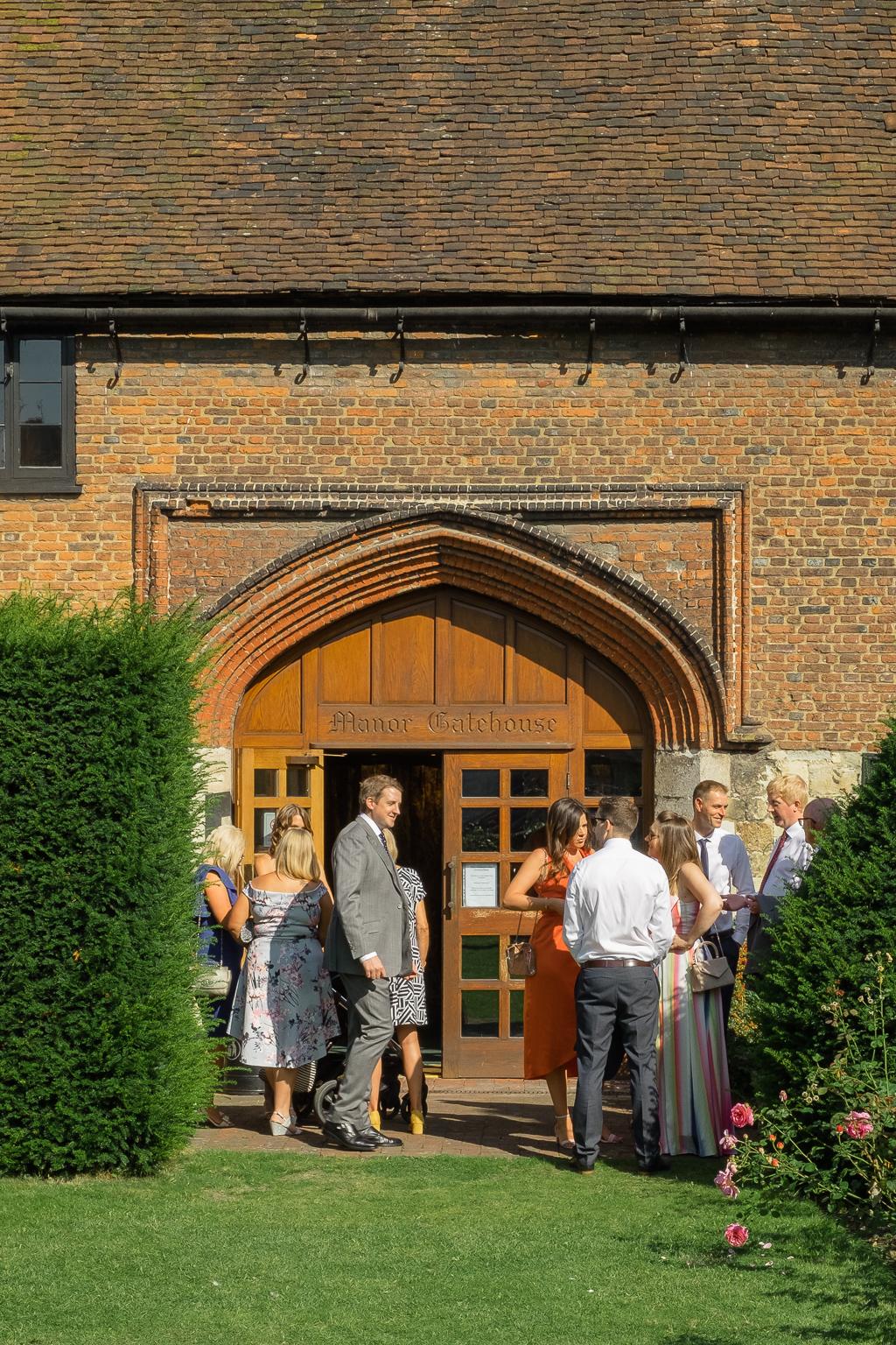 The Manor Gatehouse Dartford Wedding Ceremony | Kent Wedding Photographers | Oakhouse Photography