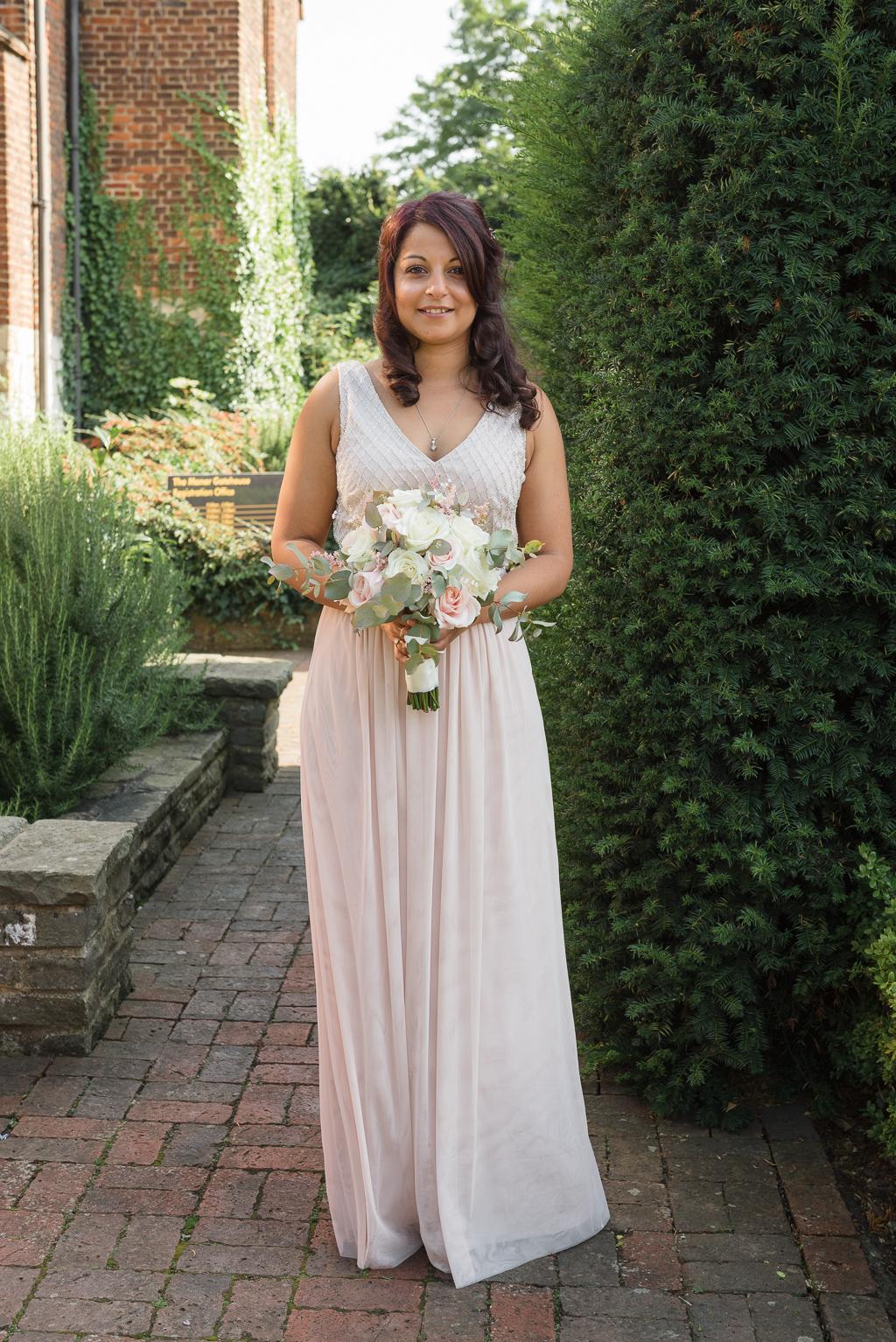 Bride Portrait atThe Manor Gatehouse Dartford | Kent Wedding Photographers | Oakhouse Photography