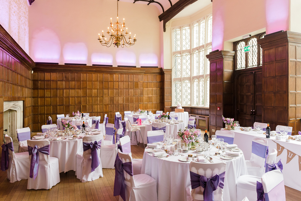 Interior of The Great Hall at Hall Place Bexley | Oakhouse Photography