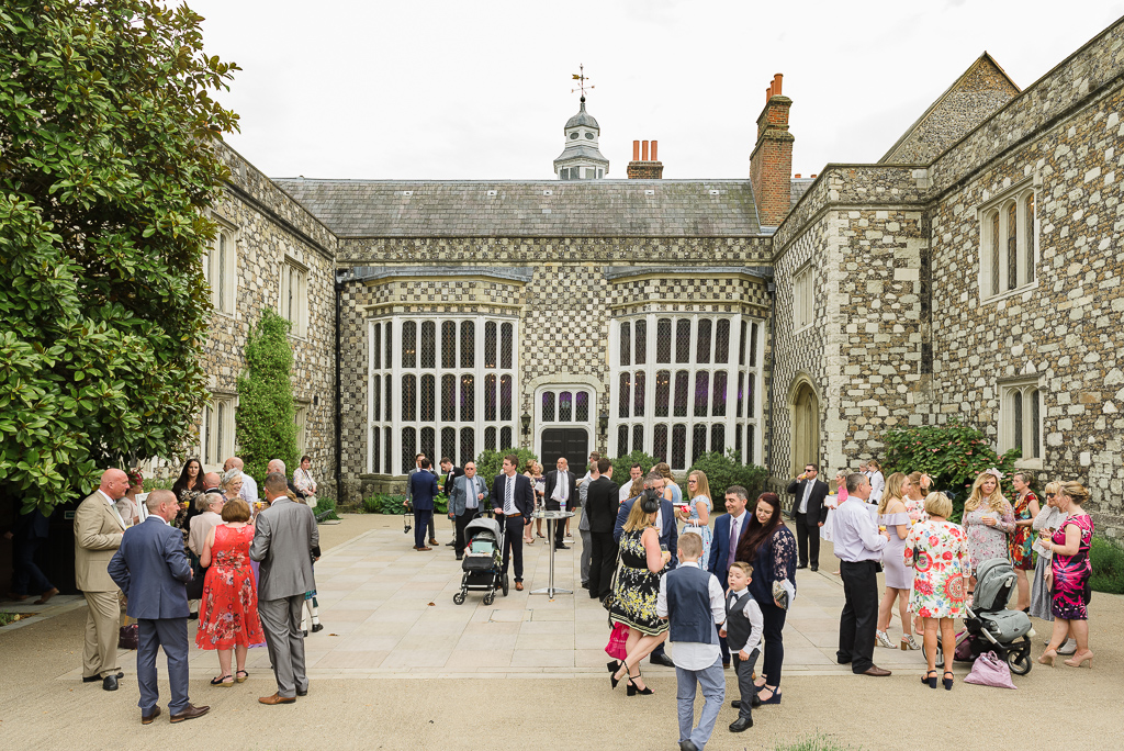Rear courtyard at Hall Place Bexley Kent | Oakhouse Photography