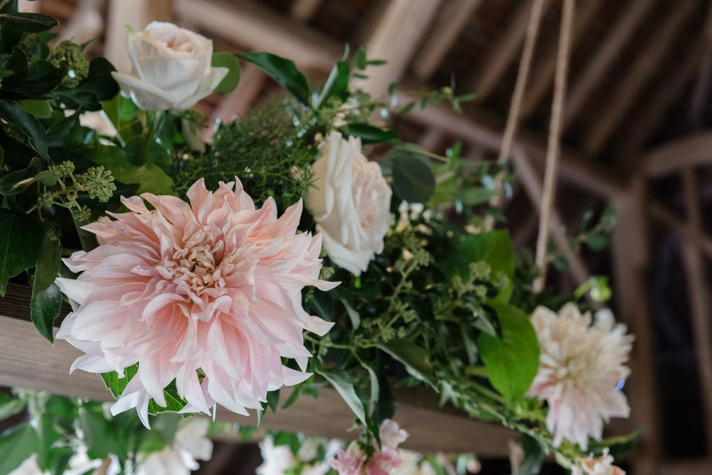 wedding flowers kent barn