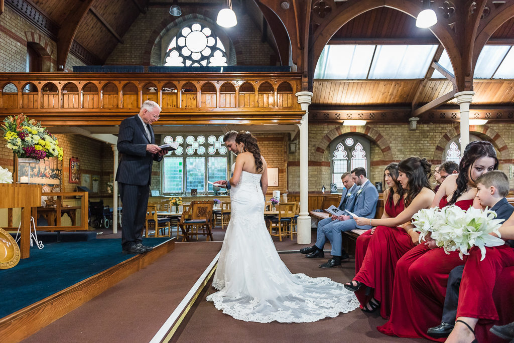 Wedding ceremony at Emmanuel Church, Sidcup | Sidcup Wedding of Becky & Hugo | Oakhouse Photography