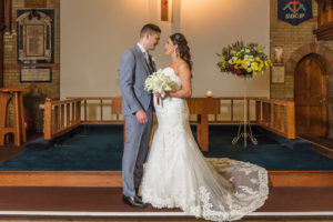 Bride and groom portrait | Sidcup Wedding of Becky & Hugo | Oakhouse Photography