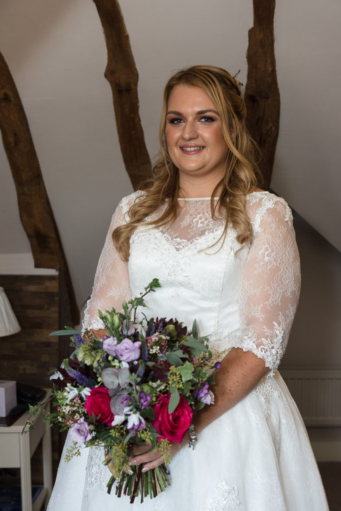 Bride portrait at The Sun Inn Faversham Kent | Oakhouse Photography