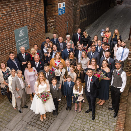 Shepherd Neame Brewery Wedding of Abbie & Josh