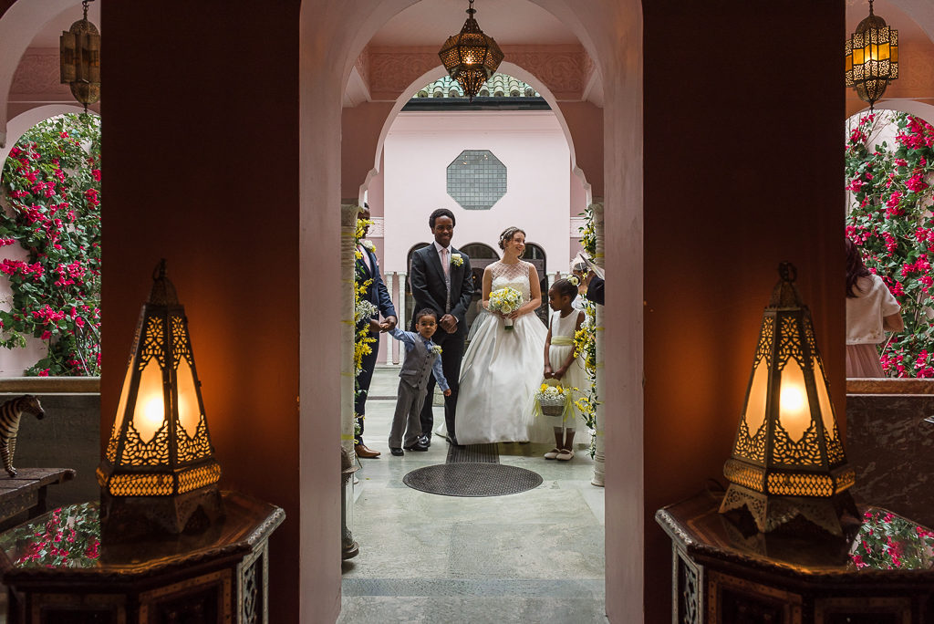 Port Lympne Moroccan Courtyard Wedding | Photographers Oakhouse Photography