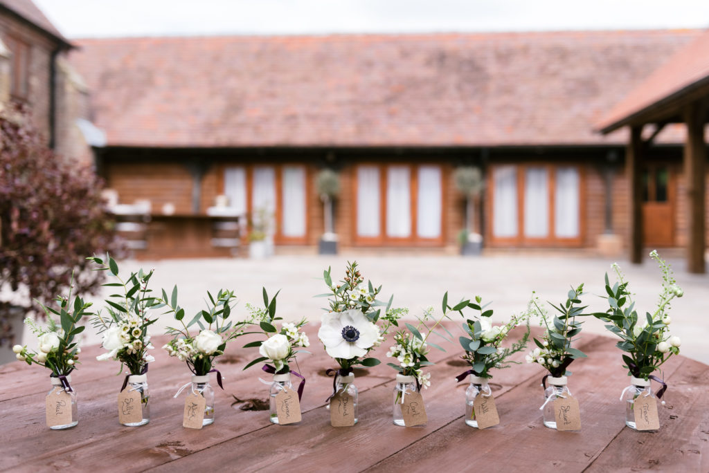 Long Furlong Barn | Oakhouse Photography | Wedding Flowers