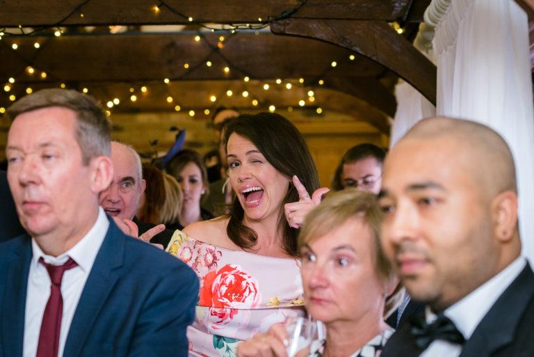 Wedding Reception Guest
